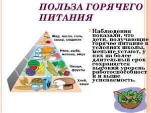 Польза горячего питания
